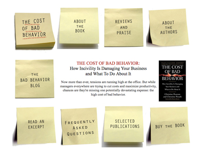 The Cost of Bad Behavior