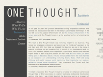 One Thought Institute
